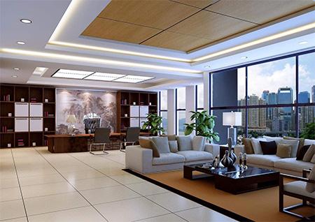 上海黄浦区办公室装修设计公司装修效果图